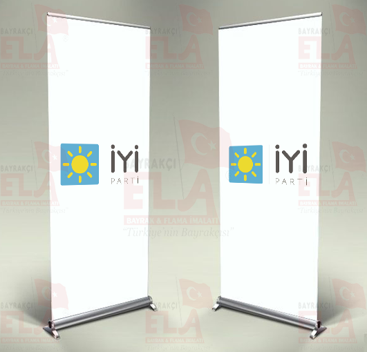 iyi parti Banner Roll Up