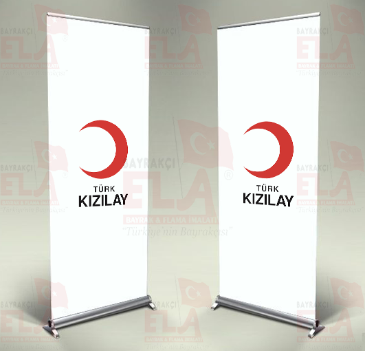 Kızılay Banner Roll Up