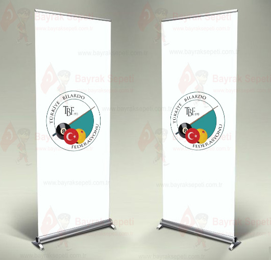 Türkiye Bilardo Federasyonu Roll Up ve Banner